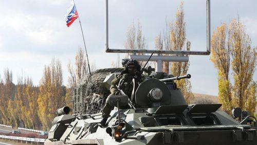 Ռուս խաղաղապահներն ուղեկցել են Շուշիից Ադրբեջանի բանակի առաջին շարասյունը